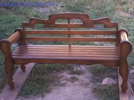 Скамейка фото 1