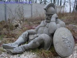 Скульптура воина  фото 4