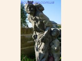 Скульптура бабы яги фото 1