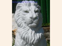 Скульптура льва фото в ракурсе 1