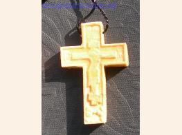 Крестик деревянный нательный