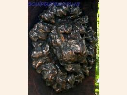 Морда льва из бетона image 6