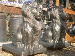 Скульптура льва фото 1