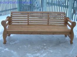 Скамейка из дуба фото 1