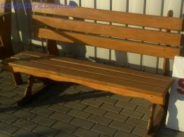 Скамейка деревянная фото 1