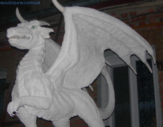 Фигура дракона фото
