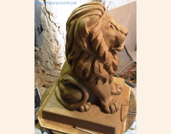 Фото 7 изготовление глиняной модели