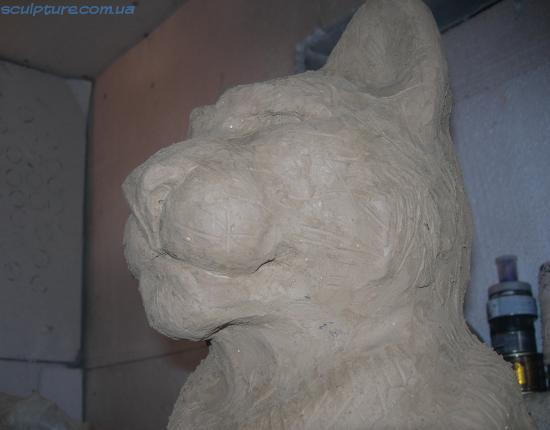 Изготовление скульптуры модель из глины фото