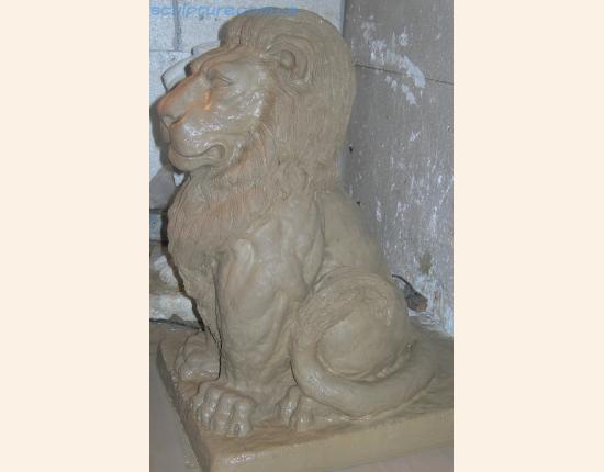 Изготовление модели из глины фото 7