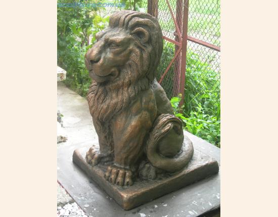 Скульптура льва фото 3