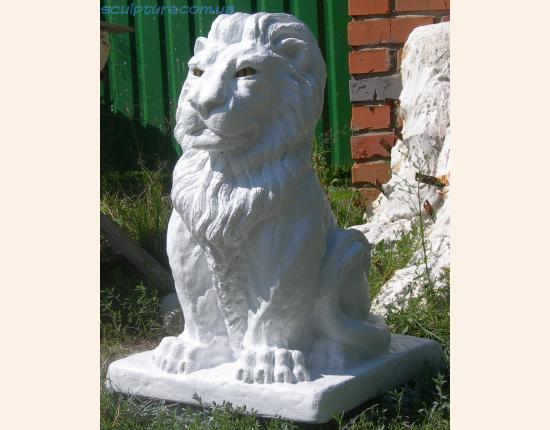 Скульптура льва фото в ракурсе 4