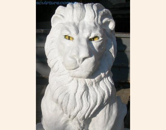 Скульптура льва фото в ракурсе 5