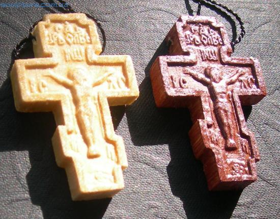 Крестик деревянный image 2