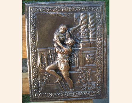 Панно из гипса Ромео и Джульетта image 2