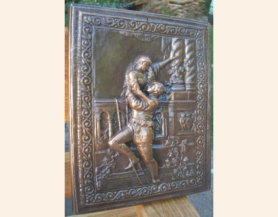 Панно из гипса Ромео и Джульетта image 4