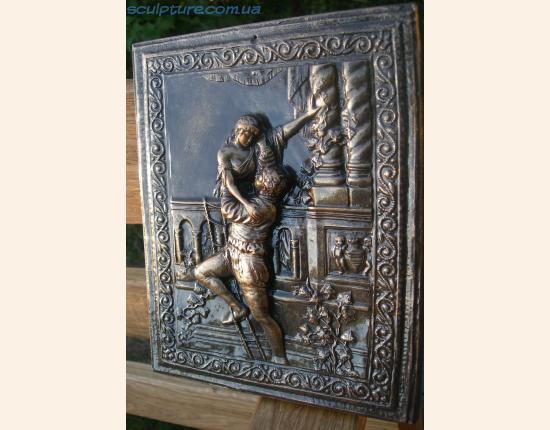 Панно из гипса Ромео и Джульетта image 1