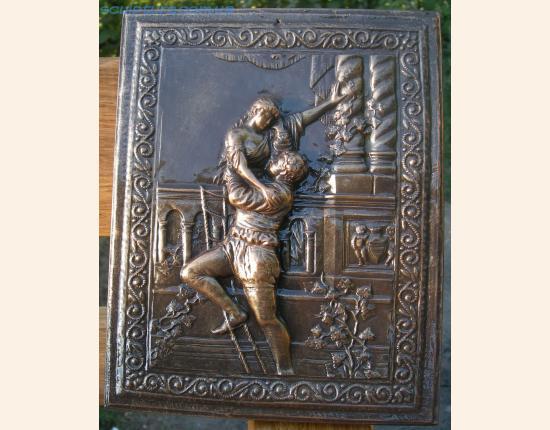 Панно из гипса Ромео и Джульетта image 3