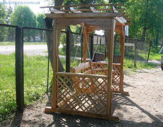 Садовые качели фото 1