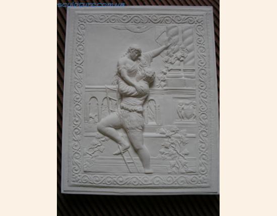 Панно из гипса Ромео и Джульетта image 6