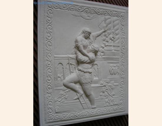 Панно из гипса Ромео и Джульетта image 7