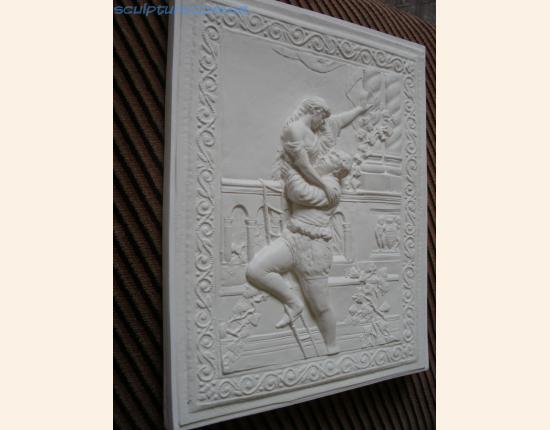Панно из гипса Ромео и Джульетта image 9